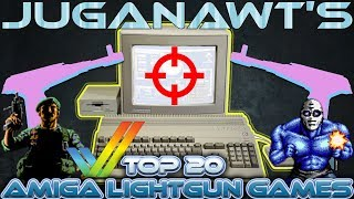Top 10 Amiga LightGun / Reticle Shooter Games of All Time!