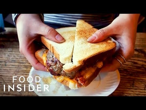 How The World's First Burger Was Made At Louis' Lunch
