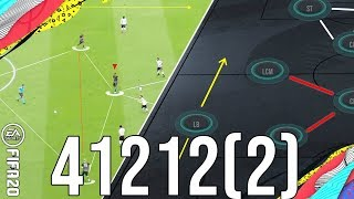 Why 41212(2) is the meta attacking formation for TIKI-TAKA/Wins Post-Patch - FIFA 20 Ultimate Team
