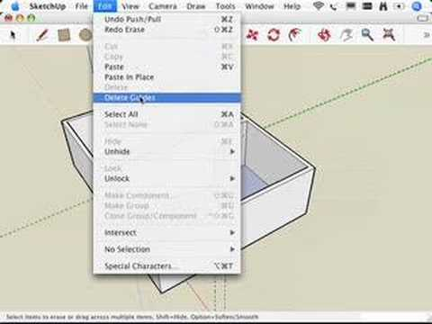 How do I ungroup all and merge all layers? - SketchUp ...
