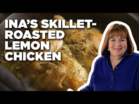How To Make Ina's Skillet-Roasted Lemon Chicken | Food Network