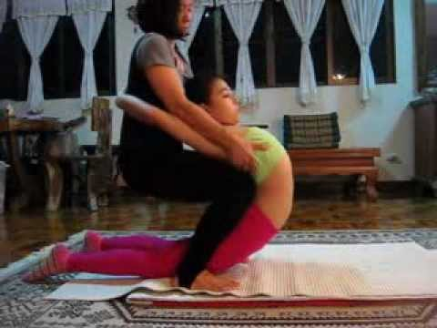 Young gymnast stretching for extreme kamasutra fuck - 1 part 4