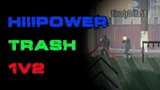HiiiPower Is Trash | 1V2 | 2 Times