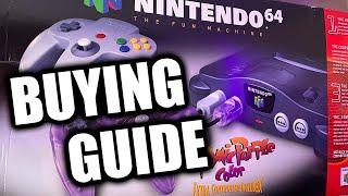 Purchasing A Nintendo 64 Iฑ 2021   N64 Buying Guide   Top 10 Nintendo 64 Games