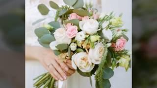 Свадебный Букет.Весільні букети  2018рокуHow to create your own cascading bridal bouquet
