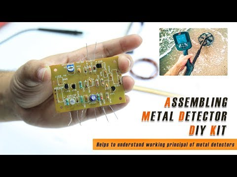 How to Make a Metal Detector at Home | DIY Kit Assembly | Metal Detectors Working Principle