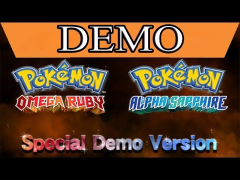 [DEMO] Pokémon Alpha Sapphire/Omega Ruby