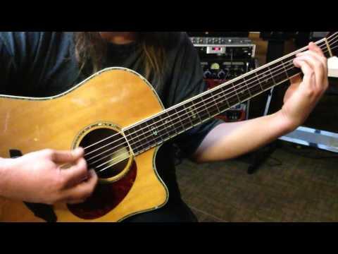 Alternate Tuning D#A#CGCD# - Key G# Harmonic Major