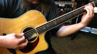 Alternate Tuning D#A#CGCD# - Key G# Harmonic Major