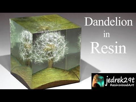 Dandelion in Resin / ART RESIN
