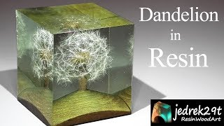 Dandelion in Resin / ART RESIN