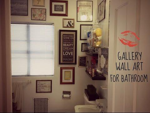 Gallery Wall Art for Bathroom
