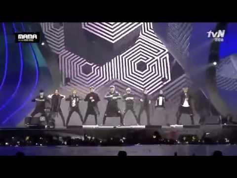 엑소 (EXO) MAMA2015 performance 1