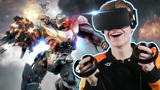 VR MECH MULTIPLAYER GAME!   Archangel: Hellfire VR (Oculus Rift + Touch Gameplay)