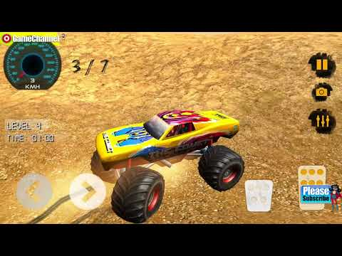 Mad Monster Offroad 4x4 Stunt Driving Legend / Android Gameplay Video