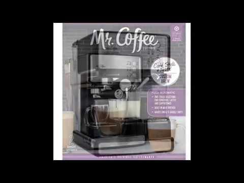 Mr. Coffee ECMP1102 Café Barista Premium Espresso/Cappuccino System