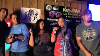 Tim, Toni, Dillon, Candice Halk Pontoon {Karaoke by KeysDAN}