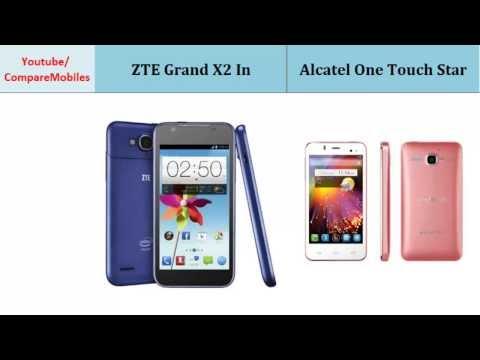 ZTE Grand X2 In versus Alcatel One Touch Star, Quick Comparison