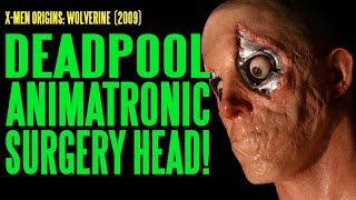 Deadpool Ryan Reynolds Surgery Head Make-Up Animatronics