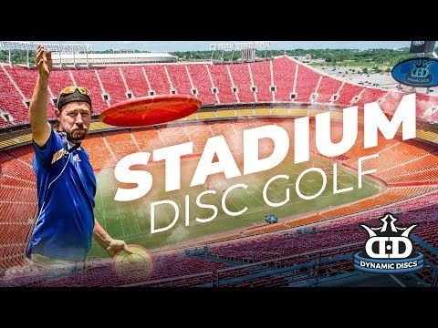 Disc Golf Experience at Arrowhead Stadium