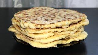 Турецкие лепешки Базлама на кефире. Упрощенный рецепт