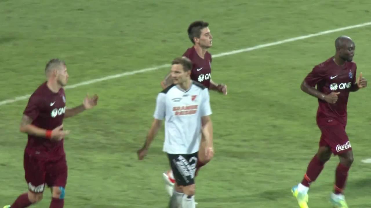 Trabzonspor 6-1 SV Gerasdorf Maçı Golleri