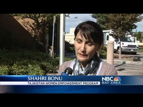 Female Police from Tajikistan Learn from Bay Area s Finest NBC Bay Area bitrate 3