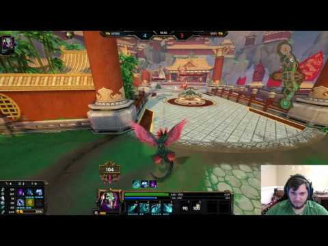 Smite - Custom 1v1 duel vs Railer - Kukulkan