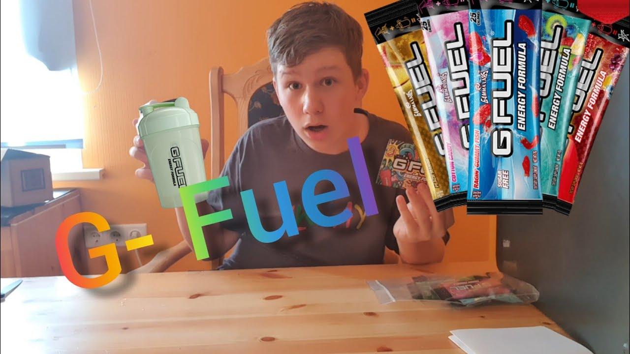 Kuidas ma sain G-Fuelit!?!? Unboxing ja proovimine
