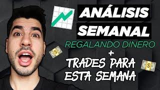 GANA DINERO HACIENDO TRADING  🔥| REGALANDO MAS DINERO | Análisis técnico Bitcoin, Forex, Futuros 🚀