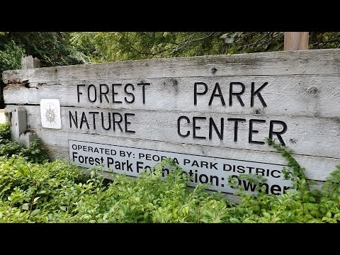 Forest Park Nature Center-Van Travel Fun! Peoria Illinois!