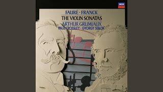 Fauré: Sonata for Violin and Piano No.1 in A, Op.13 - 4. Allegro quasi presto