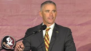 Florida State Introduces Mike Norvell As Their Next Football Coach