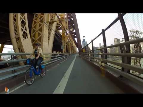 nyc midtown manhattan bike ride 59th Street Bridge