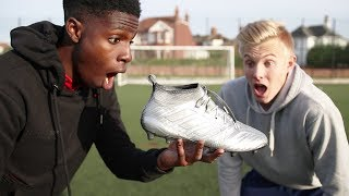 PLATINUM $10,000 Football Boots! PLAY Like Lionel MESSI