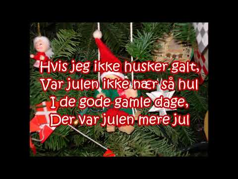 Alletiders Jul Jul I Gamle Dage Lyrics Youtube