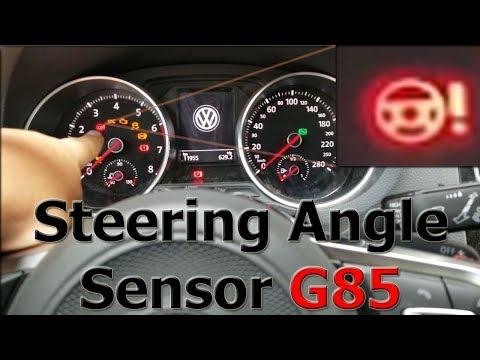 Calibración Manual Dirección Asistida   Steering Angle Sensor G85