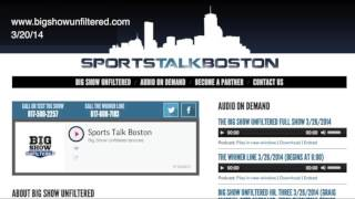 Glenn Ordway talks WEEI vs The Sports Hub