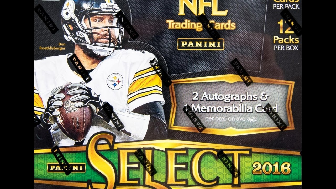 2a2df3a98dd 2016 Panini Select Football Checklist, Details, Release Date