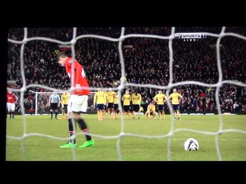 Manchester United Vs Sunderland 2014 League Cup Semi Final Penalty Shootout