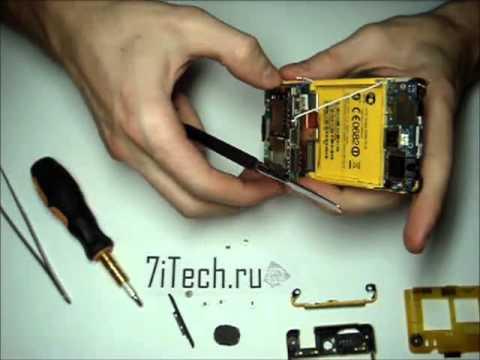 7iTech: как разобрать HTC Gratia/Aria 6380