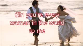 EVERY WOMAN IN THE WORLD Air Supply W Lyrics Created By Zairah