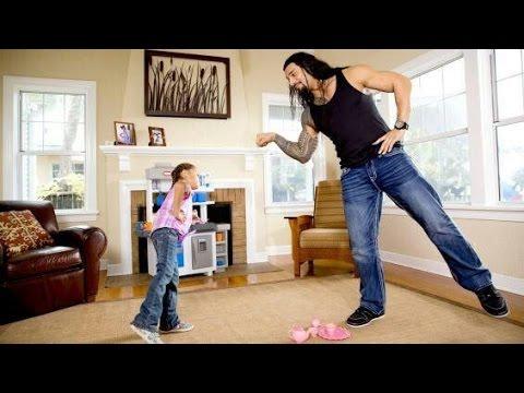 WWE SuperStars with their children