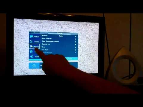 How to Connect an Over the Air TV Antenna to a Flat Screen TV
