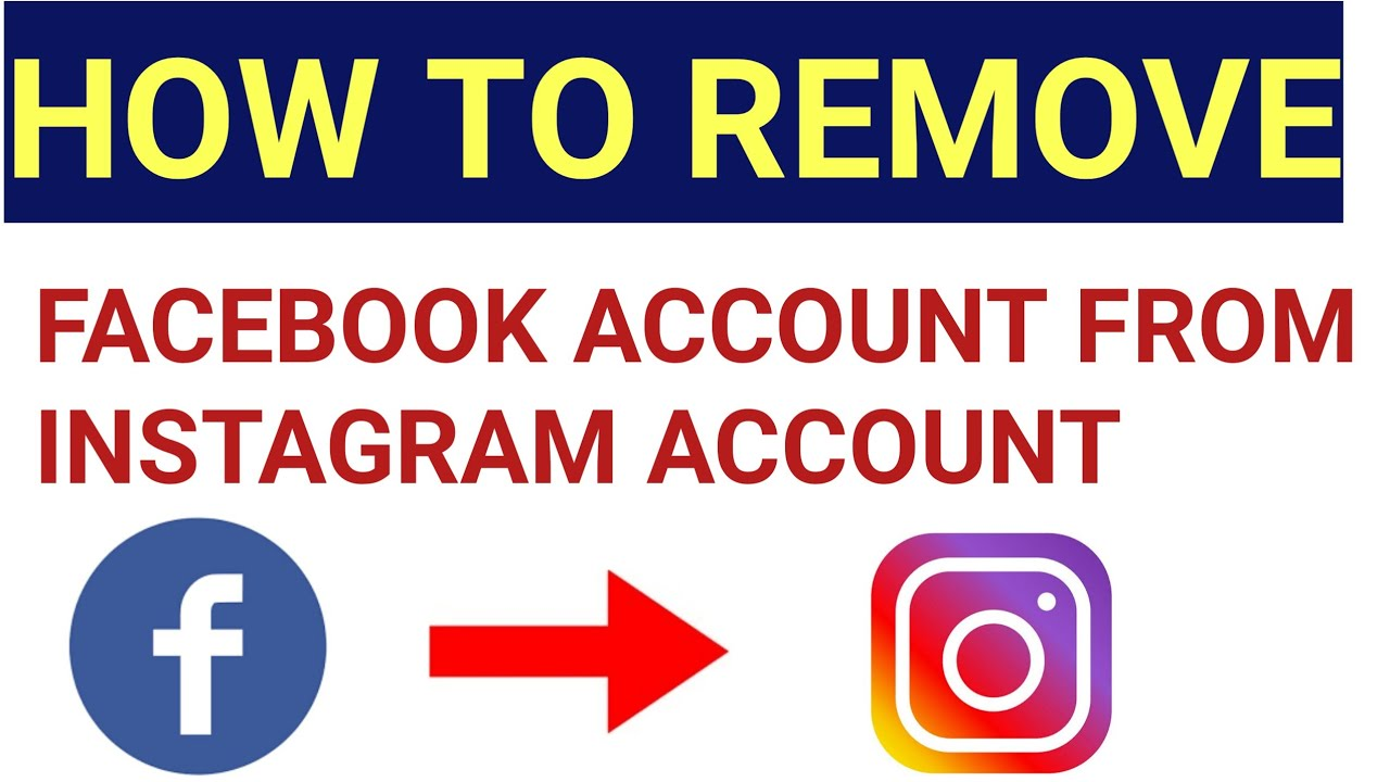 how to unlink Facebook account from instagram Account   how to stop  instagram login with facebook