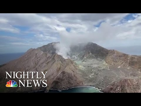 Dangerous Recovery Mission Underway After New Zealand Volcano Eruption | NBC Nightly News
