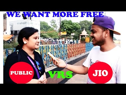 JIO REACTION Best Reaction of Jio in Public (Raniganj)  MUST WATCH!