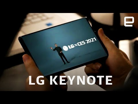 LG's CES 2021 keynote in 9 minutes