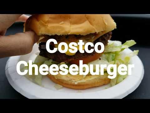 Costco Cheeseburger Review