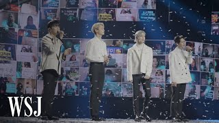 How K-Pop Is Reinventing Virtual Concerts | WSJ